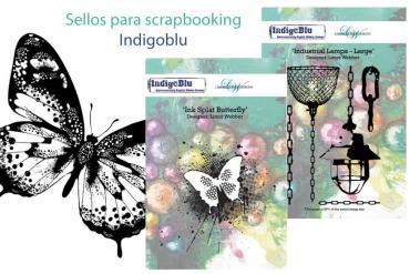 Sellos para scrapbooking de Indigoblu