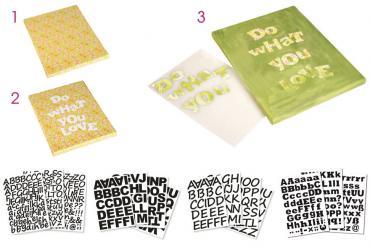 Nuevas letras adhesivas para tus proyectos !