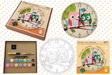Y ahora Kits Relojes infantiles...