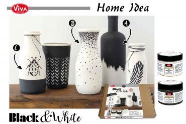Black & White Viva Decor