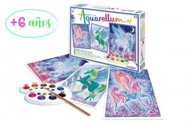Kits Aquarellum para niños
