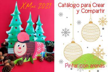 Catalogo XMAS 2021. Prepárate para decorar la navidad con arenas de colores Arenart