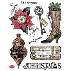 Silicon Stamp 14x18 cm. Modelo 116. Christmas