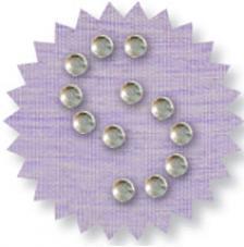 Blister 880 pzas. Octagon Glass Crystal 3mm