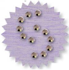 Blister 880 pzas. Octagon Glass Marron 3 mm