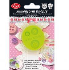 Motllo silicona botons Ø 4,4 cm
