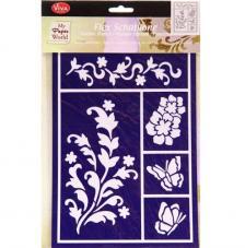 Plantilla adhesiva 14,8x21 cm