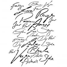 Stencil 42x29,7 cm. Modelo 214