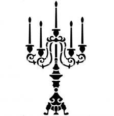 Stencil pared 36x63 cm. Modelo 73
