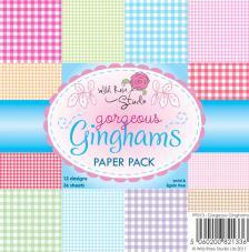 36 papeles 15,5x15,5 cm.Gorgeous Ginghams