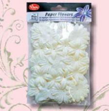 Set 50 Flores de papel
