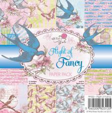 36 papers 15,5x15,5 cm. Flight of Fancy