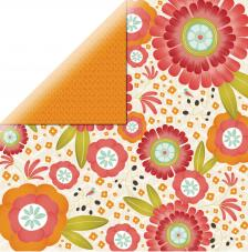 Papel doble cara 30,5 x 30,5 cm. Freesia