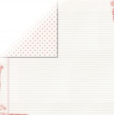 Papel doble cara 30,5 x 30,5 cm. Guestbook