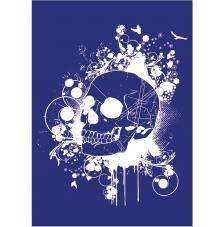 Stencil My Style Calavera 21x29,5 cm