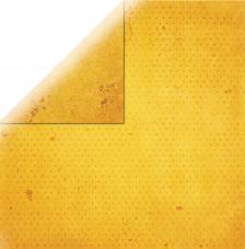 Papel doble cara 30,5 x 30,5 cm. Amarillo oro