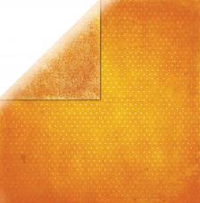 Papel doble cara 30,5 x 30,5 cm. Naranja