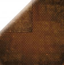 Papel doble cara 30,5 x 30,5 cm. Chocolate
