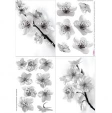 Peach Blossom decoupage paper 35x50 cm