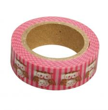 Washi Tape Buhos 15mm rollo 15m
