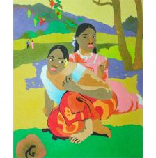 When will you marry? de Gauguin 38x46 cm