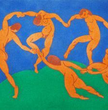 Dance de Matisse 38x46 cm