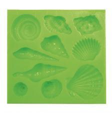 Motllo silicona cargols de mar 8x8,5 cm