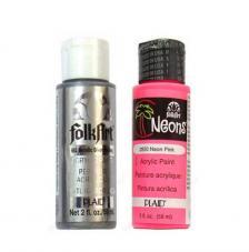 Folkart 59 ml - Metalizados y neones