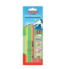 Blister 6 llapissos colors fluo i maquineta.