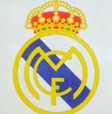 R.MADRID. 20x18 cm Precortado
