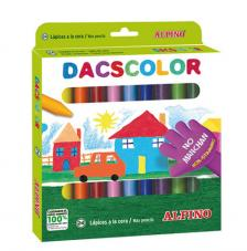 Estuche 24 dacs color