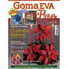Revista Goma Eva Flors 4. Nadal