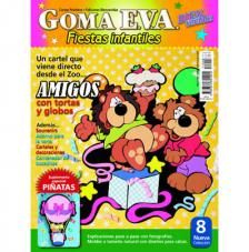 Revista Goma Eva Fiestas Infantiles 8