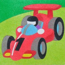 Formula 1. 20x18 cm precortado
