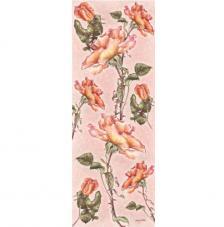 Paper decoupage roses 26x68 cm
