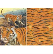 Papel decoupage tigre 45x32 cm