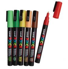 Rotulador Uni Posca PC-3M. 0,9-1,3 mm Multisuperficies