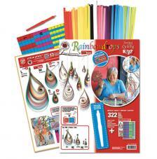 Quilling kit: Rainbow