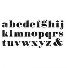 Minc Alfabet Polka Dots 55 pces
