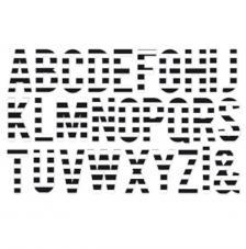 Minc Jumbo Alfabet 38 pces