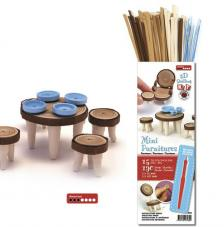 Kit quilling mini muebles madera