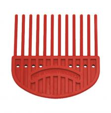 Plastic comb for quilling