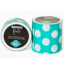 Masking Tape Marquee Love 2,2 cm. Rotllo 3,6 m. Mini Dots