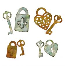Sizzix Thinlits Keys and locks