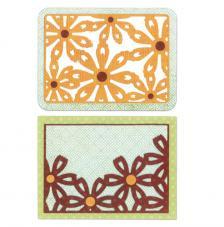 Sizzix Thinlits - Targeta flors