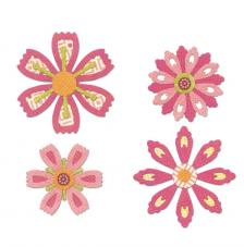 Sizzix Thinlits - Flowers differents