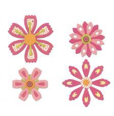 Sizzix Thinlits - Flors diverses