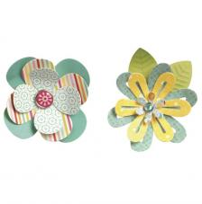 Sizzix Thinlits- Simple Flowers 2