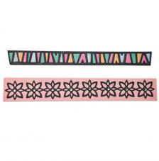 Sizzix Thinlits - Bordes tribal