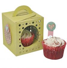 Sizzix Thinlits - Caixa cupcake